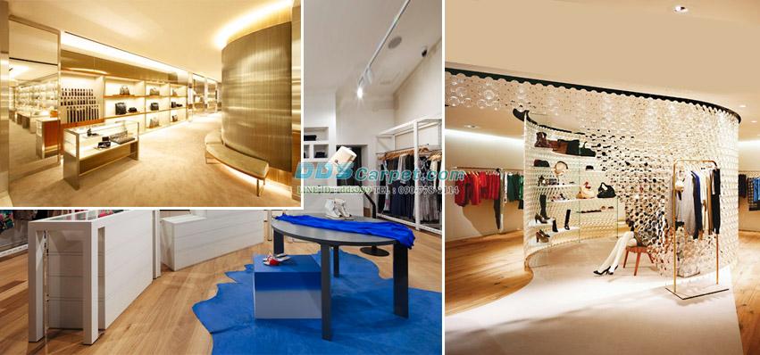 แต่งแต้มสีสัน สร้างความโดดเด่นให้ร้านค้า ด้วยพรมอัดเรียบสีพิเศษ